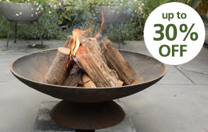 Stylish outdoor heating up to 30% off