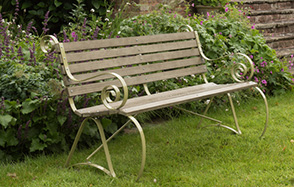 Garden benches from £169.99