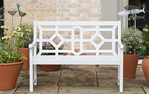 Garden benches up to £100 off