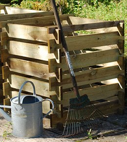 Compost box - FSC timber (small)