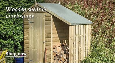 Wooden sheds & workshops