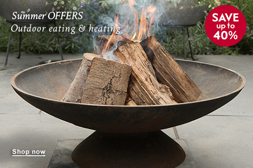 Summer OFFERS Outdoor eating & heating