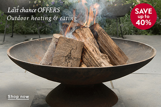 Last chance OFFERS Outdoor eating & heating