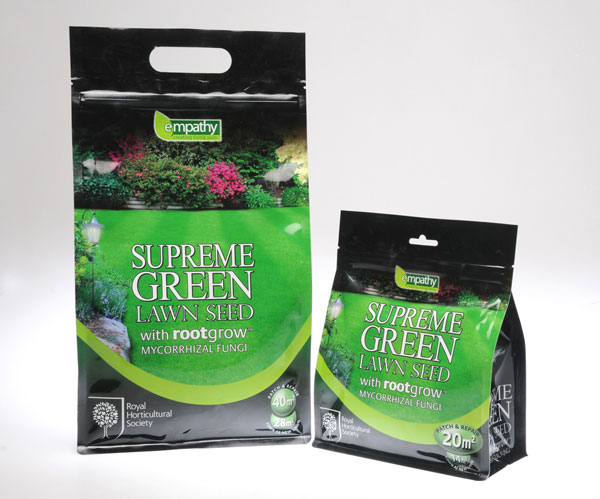 lawn seed with rootgrow