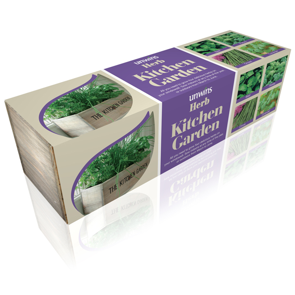 Kitchen Garden Kit: Buy Gift Set Herb Kitchen Garden Kit: Delivery By Crocus