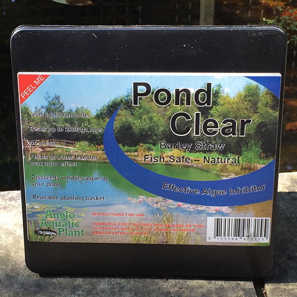 Buy Algae Cleaning For Ponds Pond Clear 39 Barley Straw Tub 39