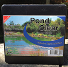 Pond clear Barley straw tub