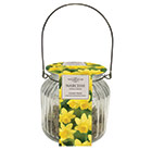 glass gift jar and Tete a tete