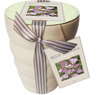 Freesia and ceramic pot gift set