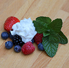 Mentha Berries and Cream