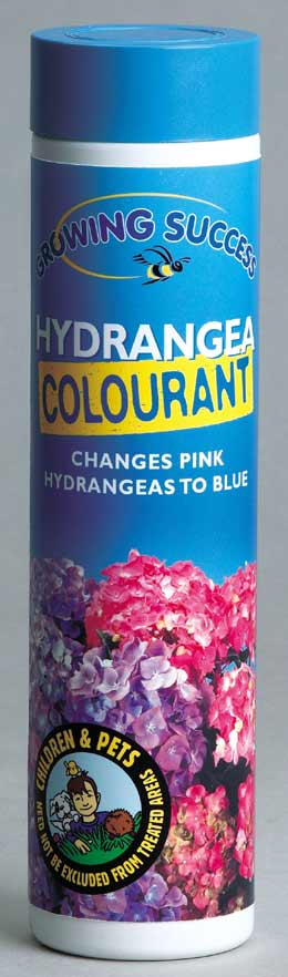 Growing success blue hydrangea colourant