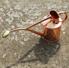 Haws solid copper 1 litre watering can
