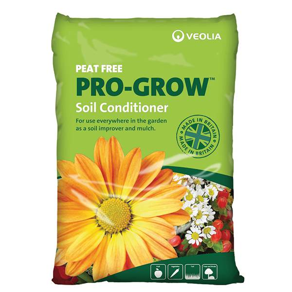 Buy organic soil conditioner pro grow peat free 60 litre for Organic soil for sale