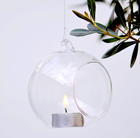 Large bauble tea light holder
