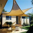 Coolaroo 5m triangle shade sail