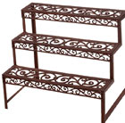 Cast-iron rectangular etagère