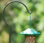 Shepherds hook - bird feeder hanger
