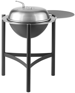 Click to view product details and reviews for Dancook 1900 Charcoal Barbecue Complete With Side Table.