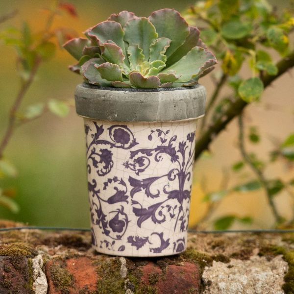 Where To Buy Ceramic Pots Part - 48: Buy Aged Ceramic Long Tom Pot: Delivery By Crocus