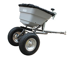 Seed / fertiliser spreader - 36kg towed