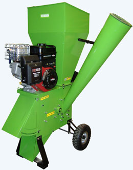 Handy shredder - petrol chipper shredder