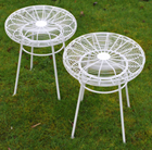 Pair of patio stools