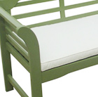 Bench cushion - natural