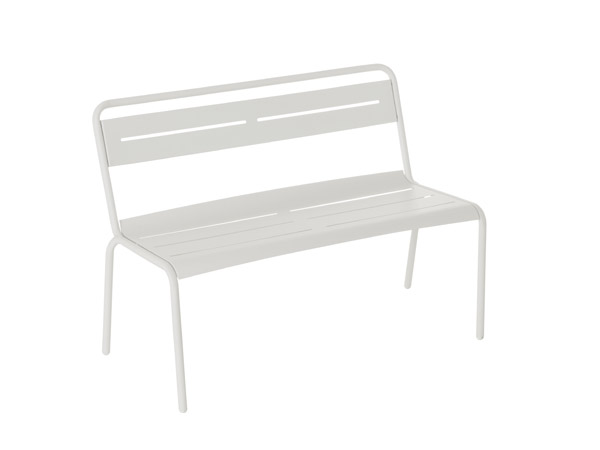 Florence bench - white
