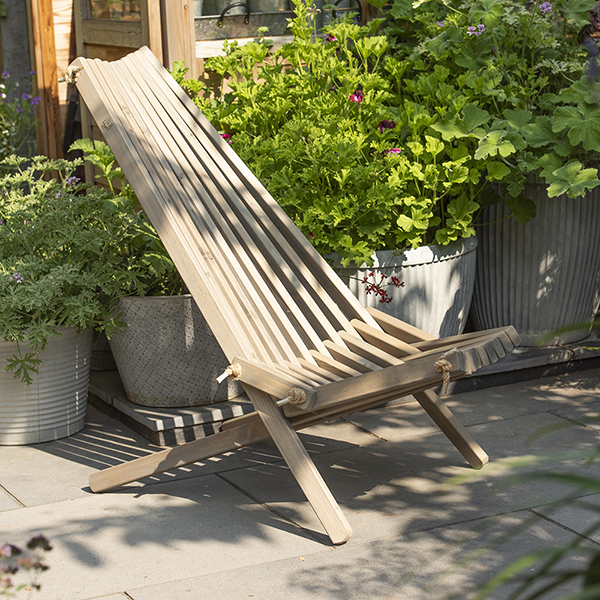 Nordeck chair grey pine