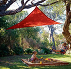 Coolaroo 3.0m triangle party shade sail