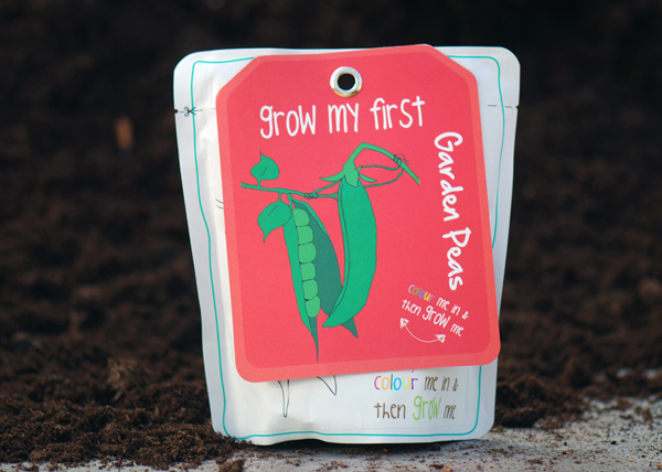 Garden peas - children's grow pack