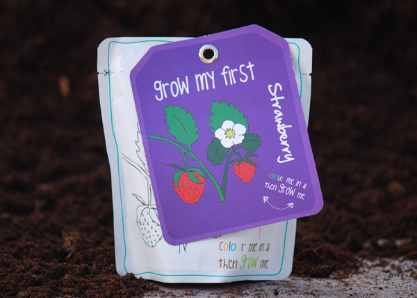 Strawberry - children's grow pack