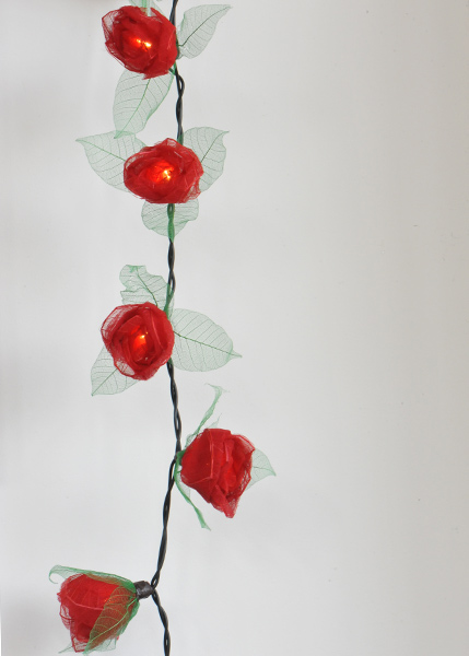 Rosebud LED lights