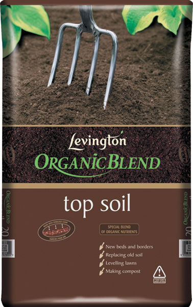 Buy 15 bags of top soil levington organic choice 20 litre for Organic soil uk