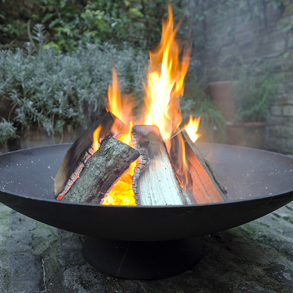 Cast-iron disc brazier