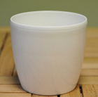 White round pot cover, 16cm