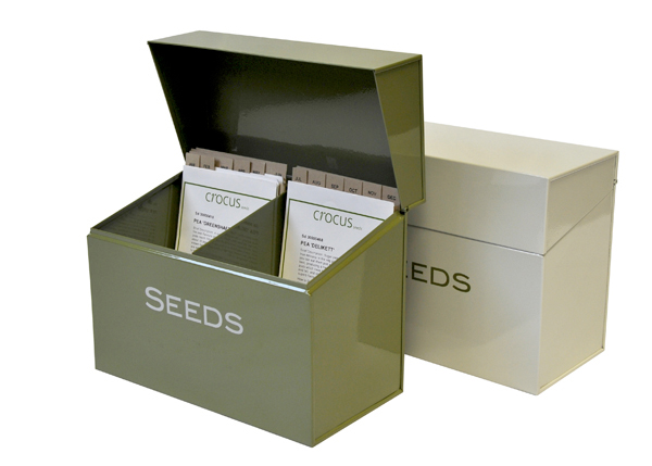 Buy Calendar Seed Storage Box