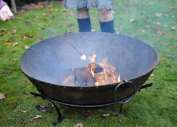 Large Indian fire pit