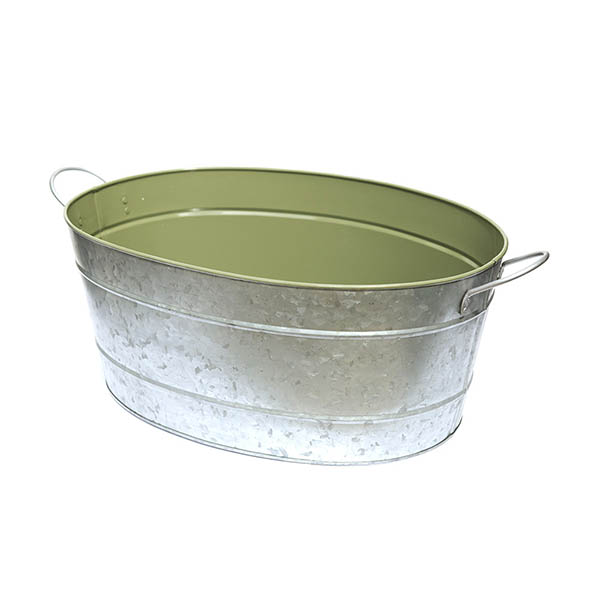Oval drinks cooling bucket