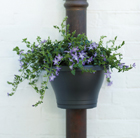 Drain pipe flower pot, 24cm
