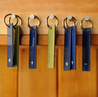 Set of 5 numbered key rings