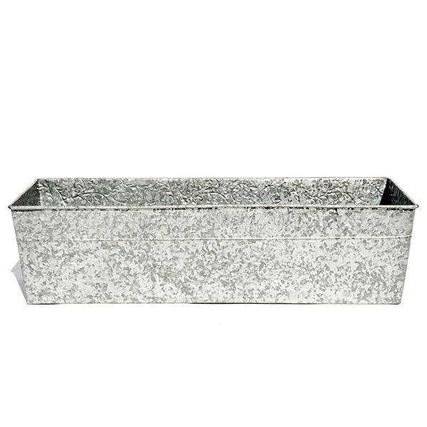 Galvanised window trough