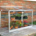 Aluminium growhouse 2 door