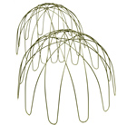 Domed plant support - green