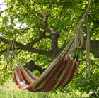 Canvas hammock - norfolk stripe