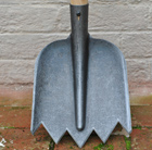De Wit lightweight soil shovel