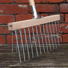 De Wit double leaf rake