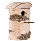 Woodland nest box for larger birds