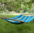 Swing hammock with bars - rainbow