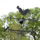 Traditional weather vane